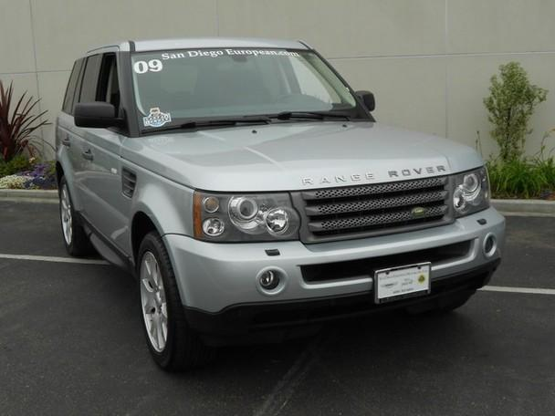 2009 land rover range rover sport hse for sale in san diego california classified. Black Bedroom Furniture Sets. Home Design Ideas