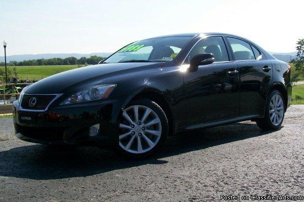 2009 lexus is 250 for sale in connellsville pennsylvania classified. Black Bedroom Furniture Sets. Home Design Ideas
