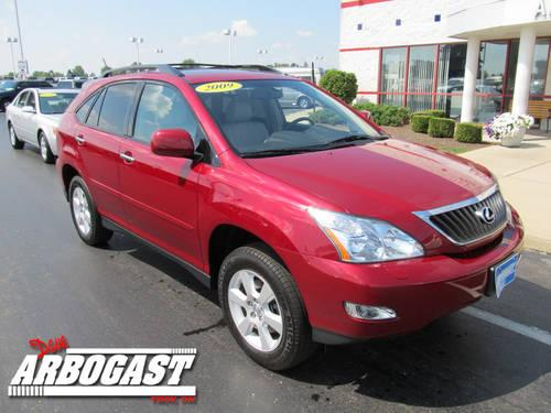 2009 lexus rx 350 suv awd for sale in troy ohio classified. Black Bedroom Furniture Sets. Home Design Ideas