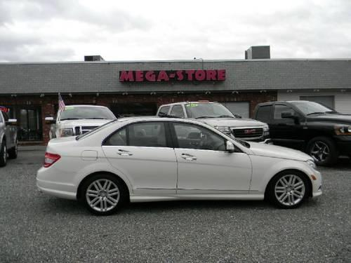 2009 mercedes benz c class sedan c300 4matic luxury sedan for Mercedes benz c300 tire pressure