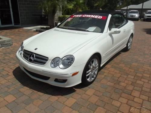 2009 mercedes benz clk class convertible clk350 for sale for Mercedes benz clk350 convertible for sale