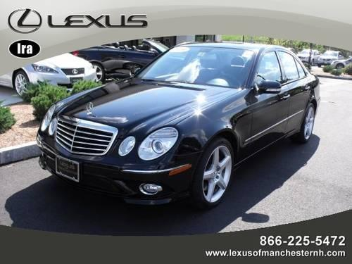 2009 Mercedes Benz E Class Sedan For Sale In Manchester