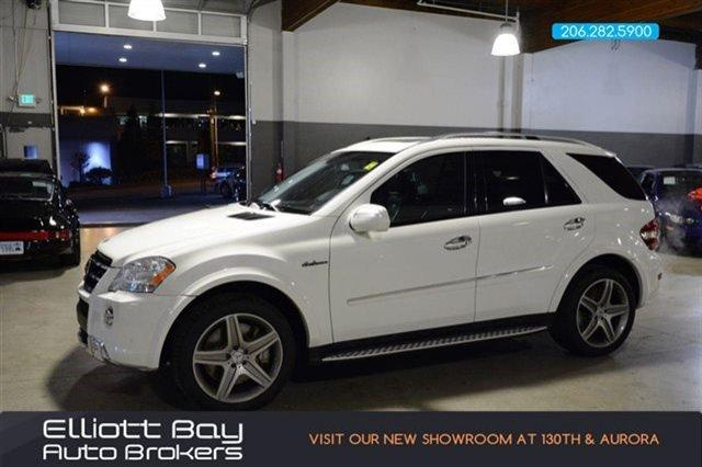 2009 mercedes benz m class awd ml63 amg 4matic 4dr suv for for Mercedes benz for sale seattle