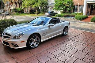 2009 mercedes benz sl 550 for sale in columbia south for Mercedes benz columbia south carolina