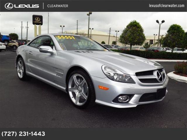 2009 mercedes benz sl class for sale in clearwater for 2009 mercedes benz sl550 silver arrow for sale