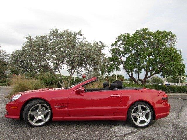 2009 mercedes benz sl class sl550 sl550 2dr convertible for Mercedes benz delray beach