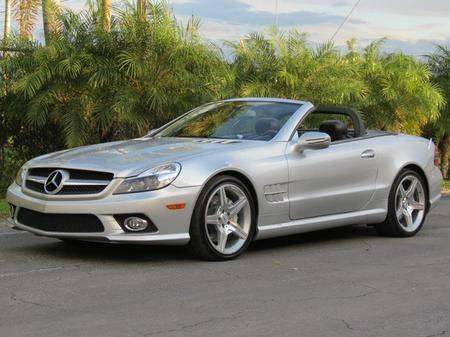 2009 mercedes benz sl550 for sale in pembroke park florida classified. Black Bedroom Furniture Sets. Home Design Ideas