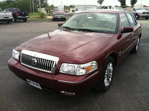 2009 Mercury Grand Marquis 4 Door Sedan For Sale In