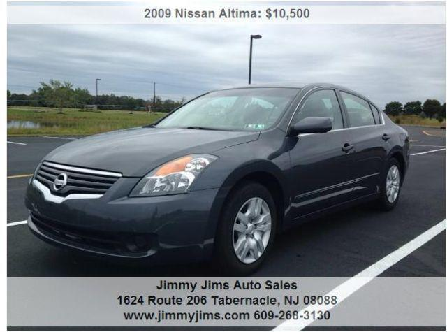 2009 Nissan Altima 2 5 S Automatic For Sale In Indian Mills New Jersey Classified