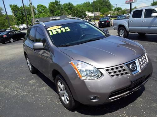 2009 nissan rogue leather 4 cyl great pickup grey suv retails 19k for sale in louisville. Black Bedroom Furniture Sets. Home Design Ideas