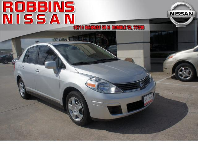 2009 nissan versa 1 8 s for sale in humble texas classified. Black Bedroom Furniture Sets. Home Design Ideas