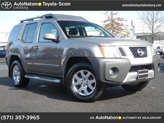 2009 nissan xterra for sale in leesburg virginia. Black Bedroom Furniture Sets. Home Design Ideas