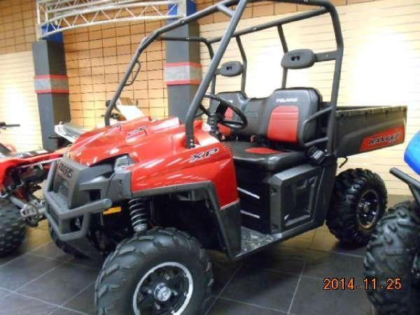 2009 Polaris Ranger XP Sunset Red LE