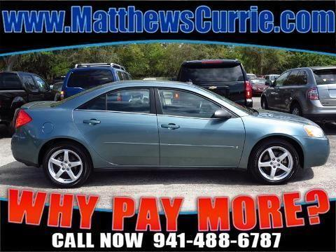 2009 PONTIAC G6 4 DOOR SEDAN
