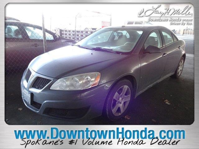 2009 Pontiac G6 Base Base 4dr Sedan w/1SB