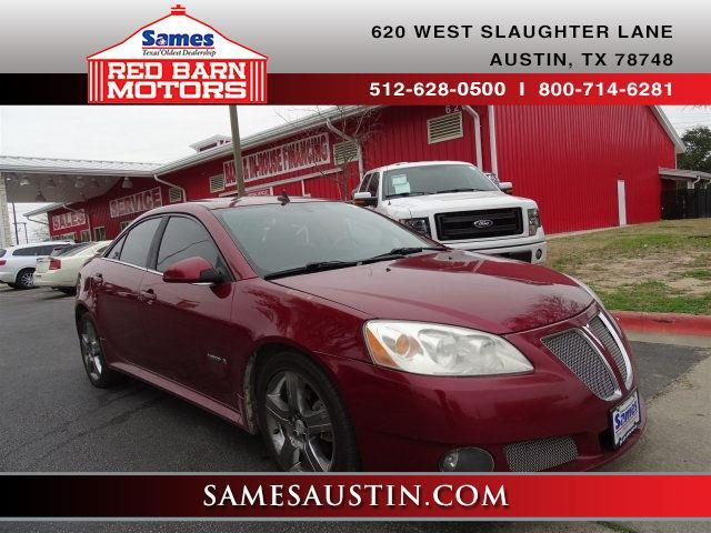 2009 pontiac g6 gxp gxp 4dr sedan w 1sa for sale in austin texas classified. Black Bedroom Furniture Sets. Home Design Ideas