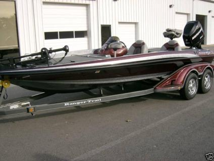 2009 ranger z20 bass boat only 156 hours for sale in for Buy bass boat without motor