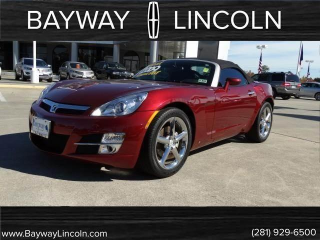 American Auto Sales Houston Tx: 2009 Saturn SKY Roadster 2D For Sale In Houston, Texas