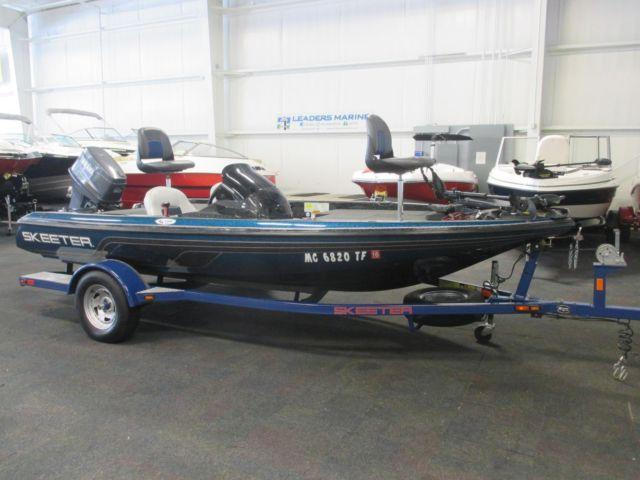 2009 Skeeter 170 SX bass boat with 90 hp Yamaha for Sale ...
