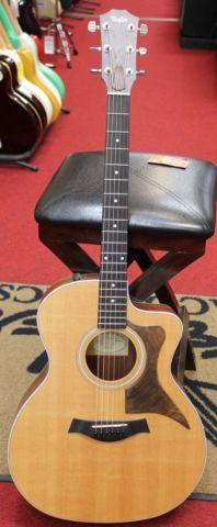 2009 Taylor 214CE Acoustic Electric Guitar with Case
