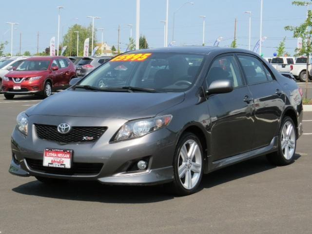 2009 toyota corolla 4dr sedan xrs for sale in medford. Black Bedroom Furniture Sets. Home Design Ideas
