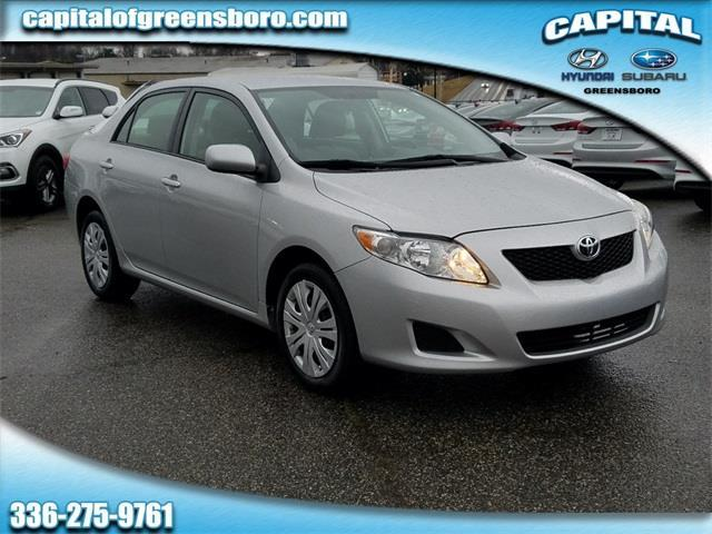 2009 Toyota Corolla Base Base 4dr Sedan 4A