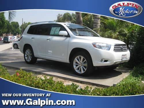 2009 toyota highlander limited hybrid sport utility 4d for. Black Bedroom Furniture Sets. Home Design Ideas