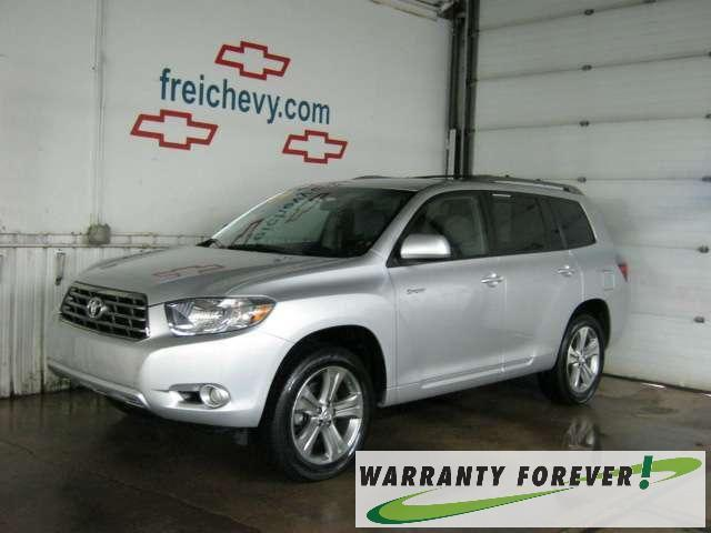 2009 toyota highlander sport for sale in marquette michigan classified. Black Bedroom Furniture Sets. Home Design Ideas