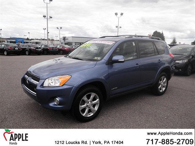 2009 toyota rav4 limited 4x4 limited 4dr suv v6 for sale in york pennsylvania classified. Black Bedroom Furniture Sets. Home Design Ideas