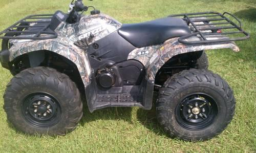 2009 yamaha grizzly 450 camo warn winch diff lock for for Yamaha grizzly 450 for sale