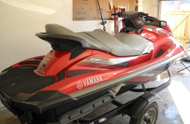 2009 yamaha waverunner fx sho jet ski w trailer for sale for Yamaha wave runner parts