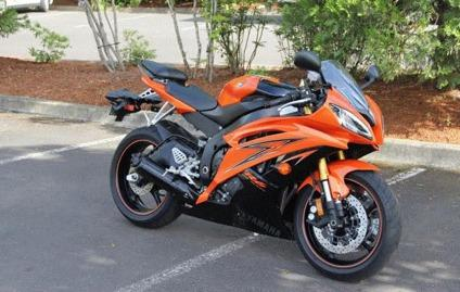 2009 yamaha yzf r6 se orange pearl for sale in buffalo new york classified. Black Bedroom Furniture Sets. Home Design Ideas