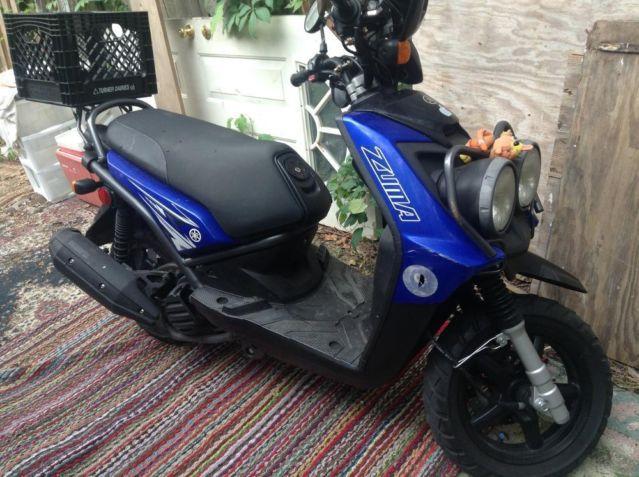 2009 yamaha zuma 125 cc yes extended warranty till 2015 for Yamaha extended warranty