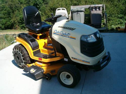 2009 Cub Cadet Gt2544 Garden Tractor Low Hours For Sale In Bethlehem West Virginia Classified