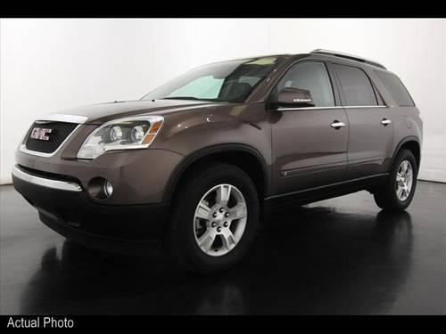 2009 gmc acadia suv slt 2 for sale in sparta michigan classified. Black Bedroom Furniture Sets. Home Design Ideas