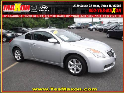 2009 nissan altima 2 dr coupe 2 5 s for sale in chestnut new jersey classified. Black Bedroom Furniture Sets. Home Design Ideas