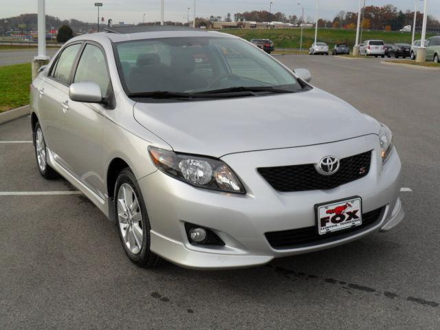 2009 toyota corolla s for sale in clinton tennessee classified. Black Bedroom Furniture Sets. Home Design Ideas