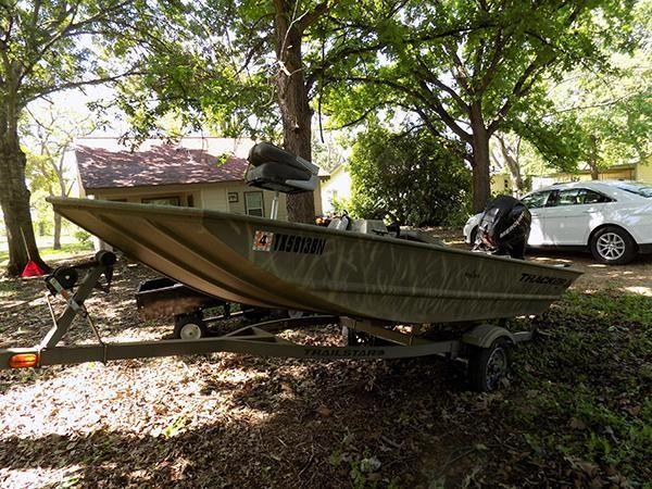 2010 14 bass tracker pro bass boat for sale in dunlay for Bass pro fishing boats