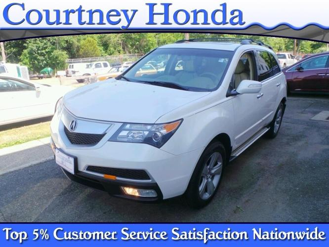 2010 acura mdx sh awd w tech sh awd 4dr suv w technology package for sale in milford. Black Bedroom Furniture Sets. Home Design Ideas