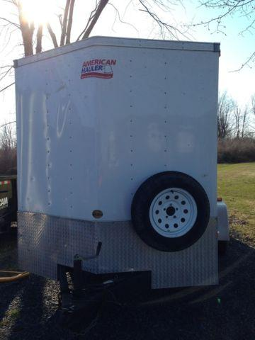 Car Hauler Jobs >> 2010 American Hauler 7x14 enclosed trailer for Sale in Chaumont, New York Classified ...