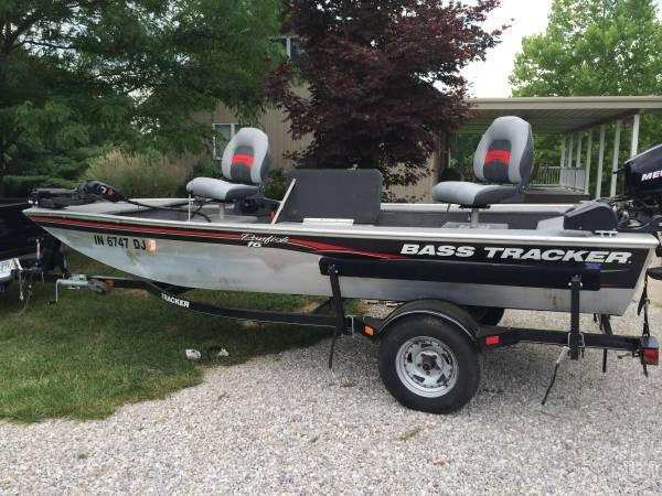 2010 bass tracker fishing boat with trailer and cover 16 for Bass pro fishing sale