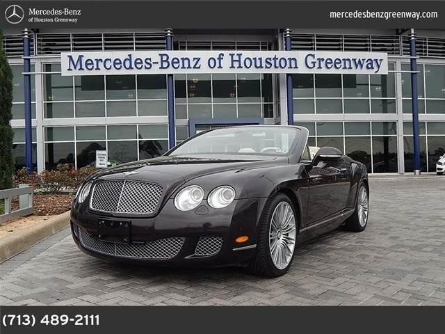 2010 bentley continental gt for sale in houston texas classified. Black Bedroom Furniture Sets. Home Design Ideas