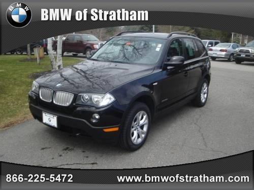 2010 bmw x3 suv awd 4dr 30i for sale in stratham new hampshire classified. Black Bedroom Furniture Sets. Home Design Ideas