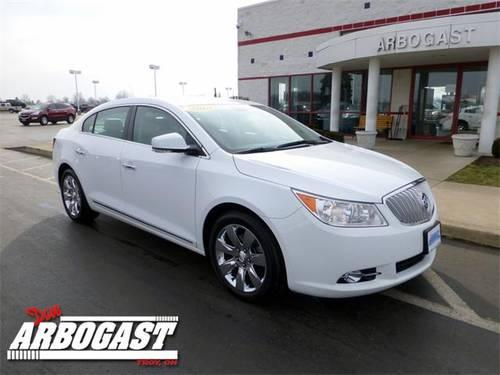 2010 buick lacrosse sedan cxs for sale in troy ohio classified. Black Bedroom Furniture Sets. Home Design Ideas