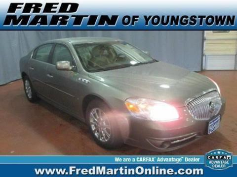 2010 BUICK LUCERNE 4 DOOR SEDAN