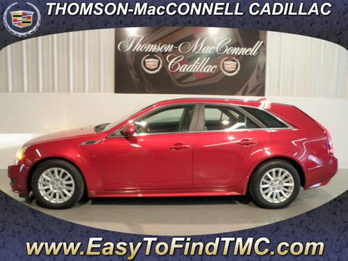 2010 Cadillac Cts 4 Dr Wagon Awd Luxury For Sale In