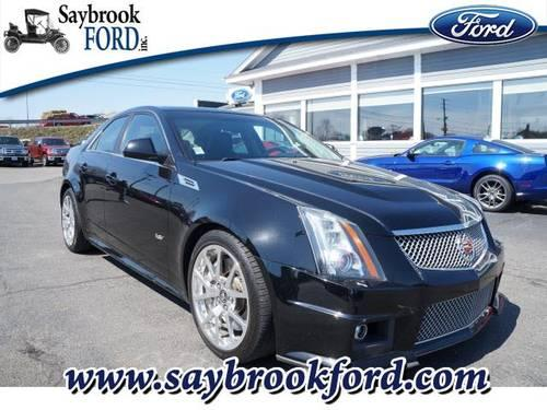 2010 cadillac cts v 4 dr sedan for sale in fenwick connecticut. Cars Review. Best American Auto & Cars Review
