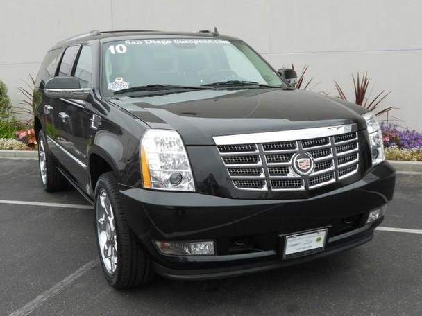 2010 cadillac escalade esv premium for sale in san diego. Black Bedroom Furniture Sets. Home Design Ideas