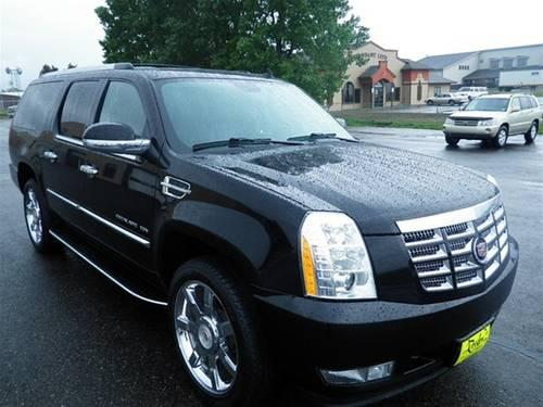 2010 cadillac escalade esv suv luxury for sale in bozeman. Black Bedroom Furniture Sets. Home Design Ideas