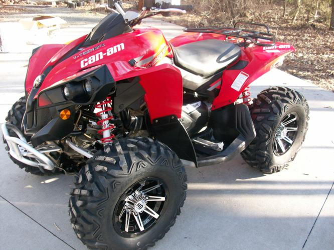 2010 Can am Renegade 800 ATV- $2500